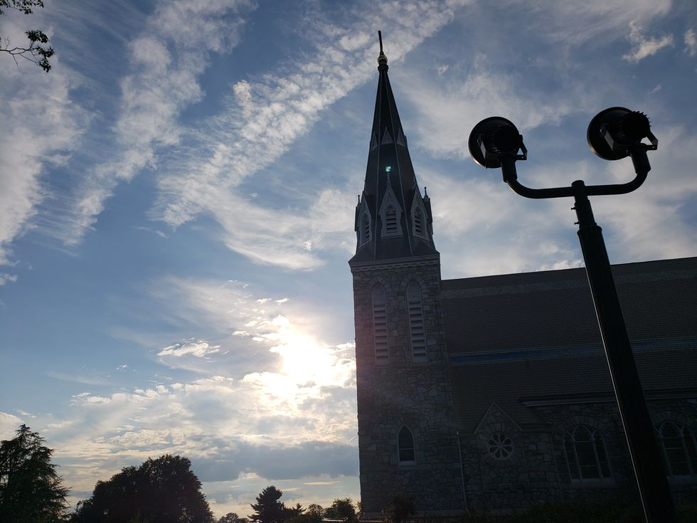12 Artsy Picture Angles Of The Villanova Church You Probably Haven't Taken