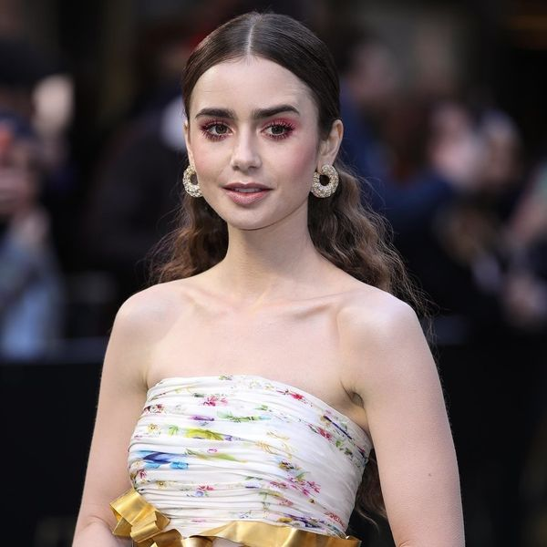 Lily Collins Is Being Haunted by Friendly Ghosts