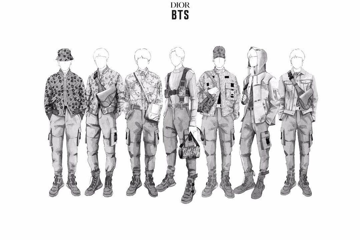 Kim Jones Is Designing BTS' Tour Looks