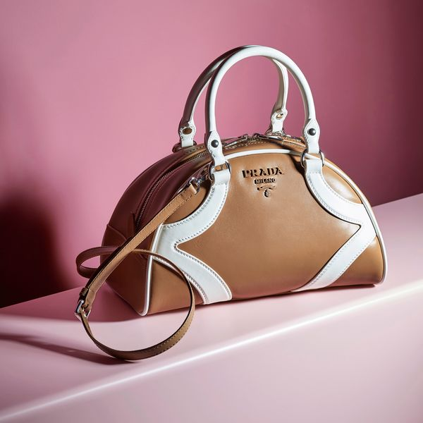 Prada Brings Back the Iconic Bowling Bag at Resort 2020