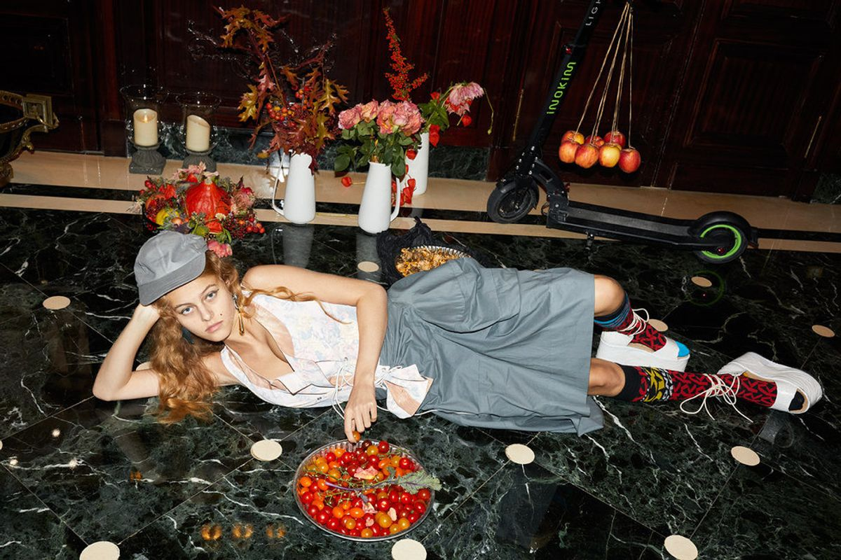 Vivienne Westwood Teams Up With Buffalo London