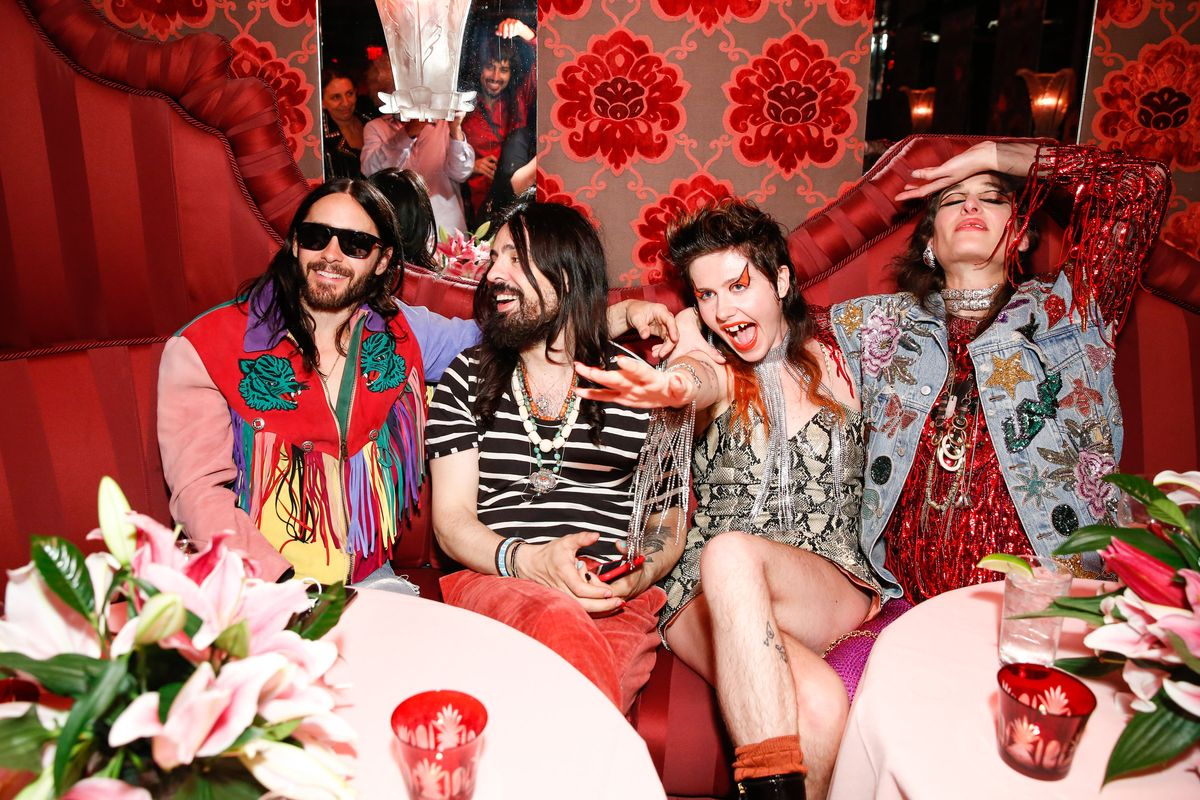 Gucci Throws a Big Beauty Bash in New York