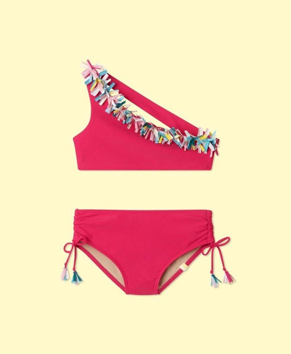 bfaf64c39ffe0 This new mommy + me swimwear line is all we want to wear this summer ...