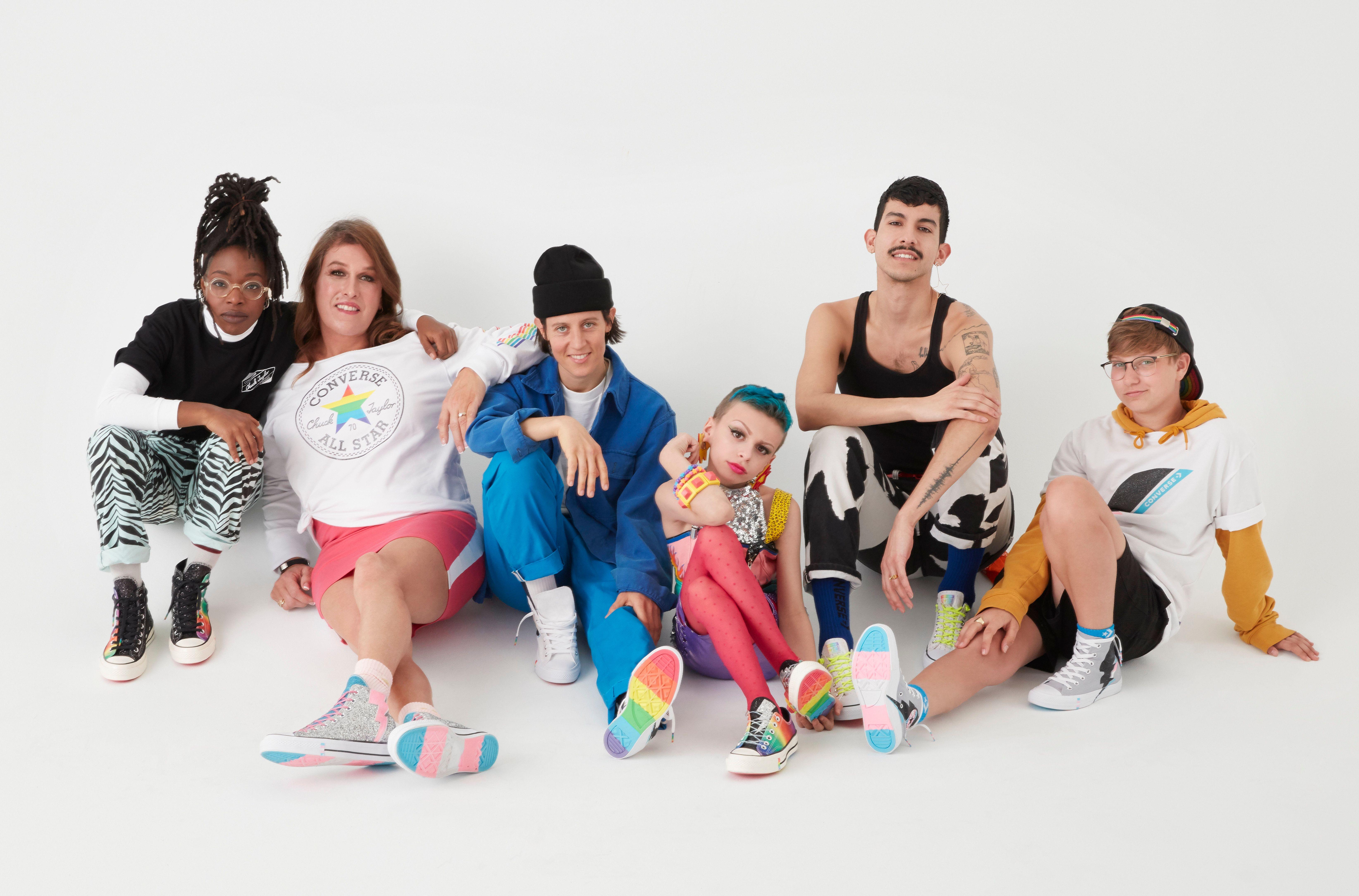 Converse's Debuts PRIDE Campaign PAPER