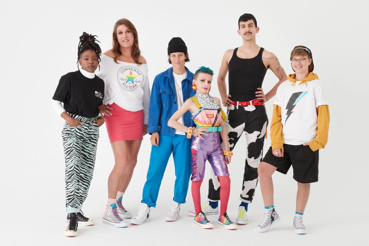 The Remarkable Faces of Converse PRIDE