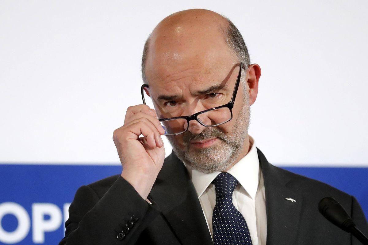 Suicidio Pd, sponsor per le elezioni è l'ultrà anti italiano Moscovici