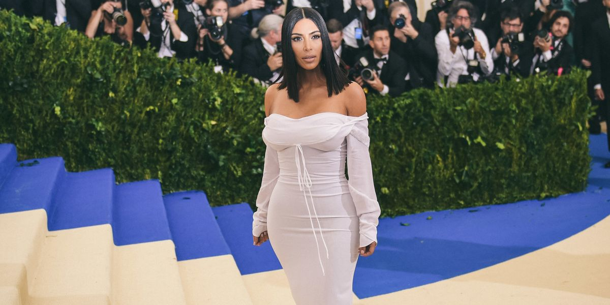 Kim Kardashian Admits to Feeling Insecure at the Met Gala