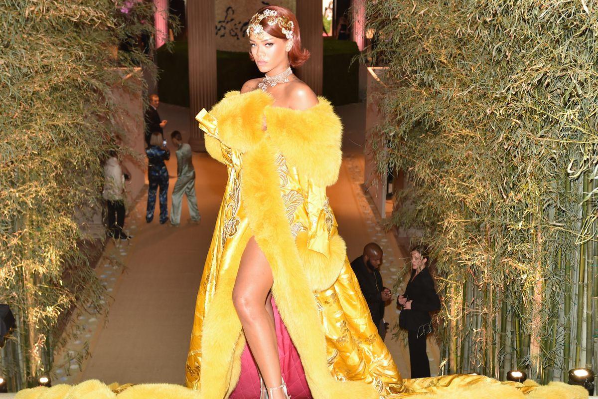 Rihanna Names Best Dressed at the Met Gala