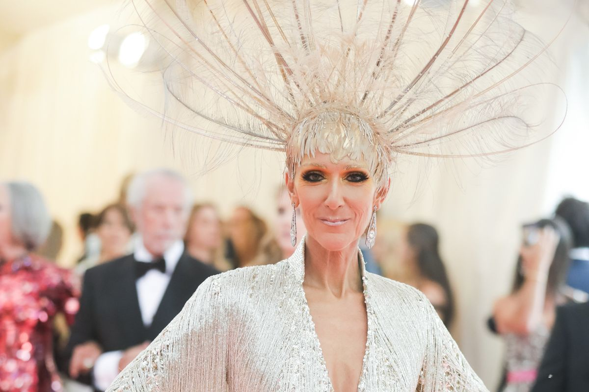 Celine Dion Obviously Owned the 'Camp' Theme