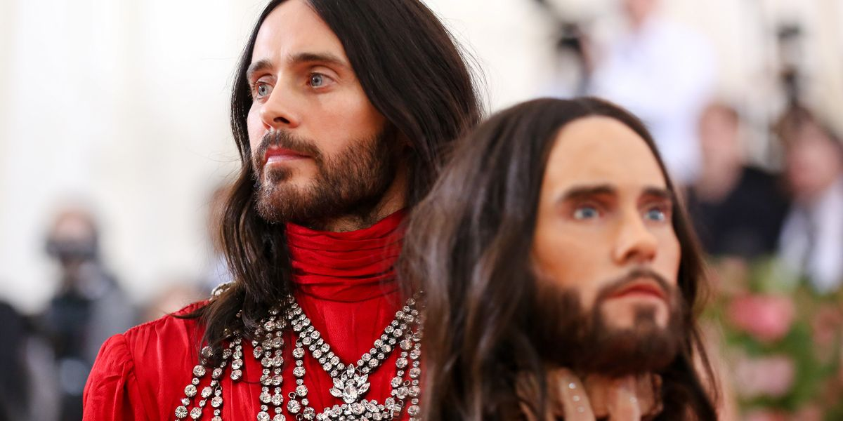 Jared Leto Brought His Own Severed Head to the 2019 Met Gala