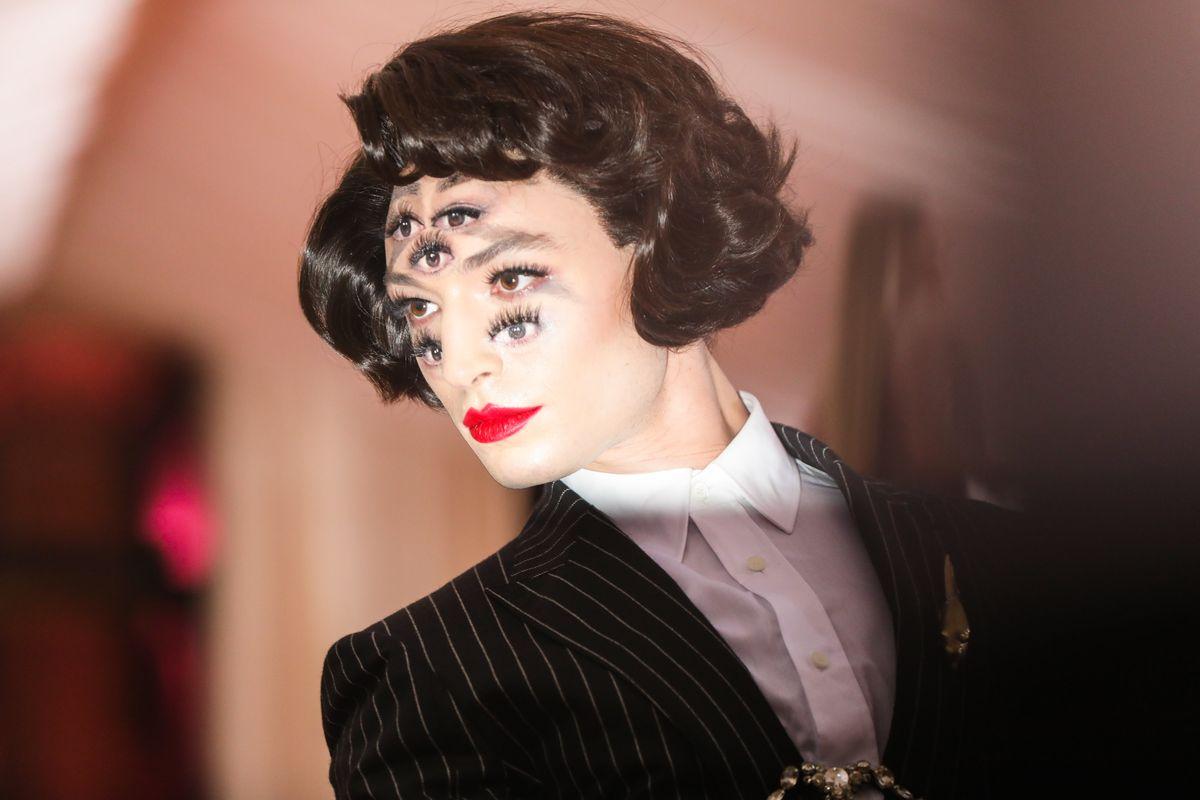 Meet the Makeup Artist Behind Ezra Miller's 7-Eyed Look