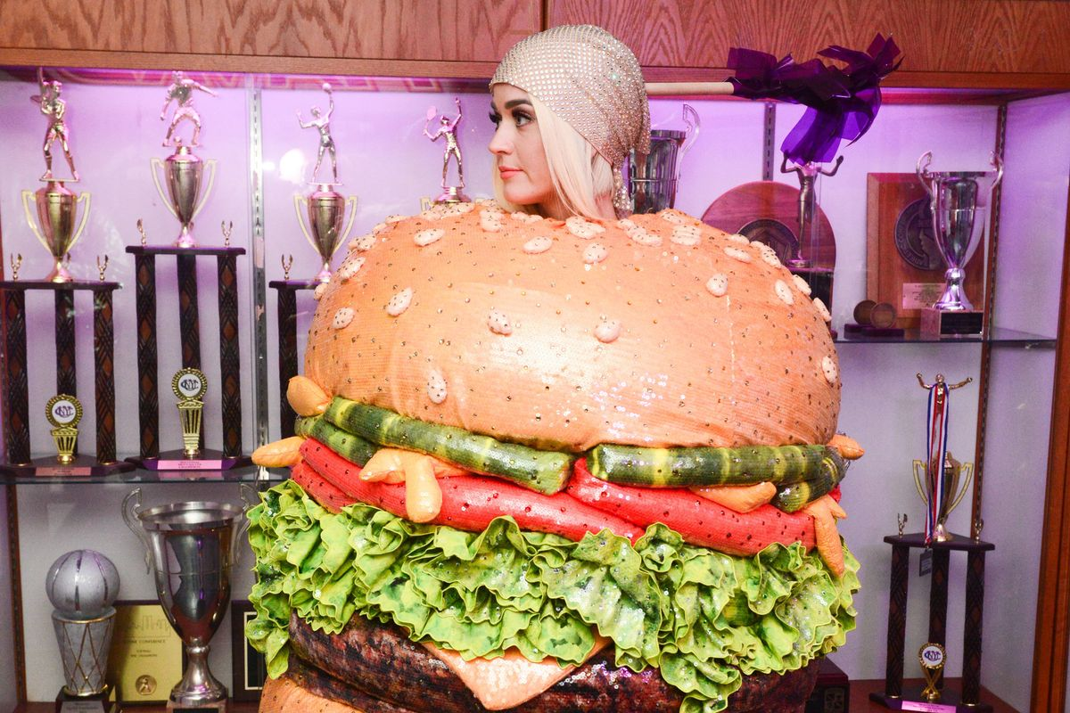 Katy Perry's Hamburger Afterparty Dress Won the Met Gala