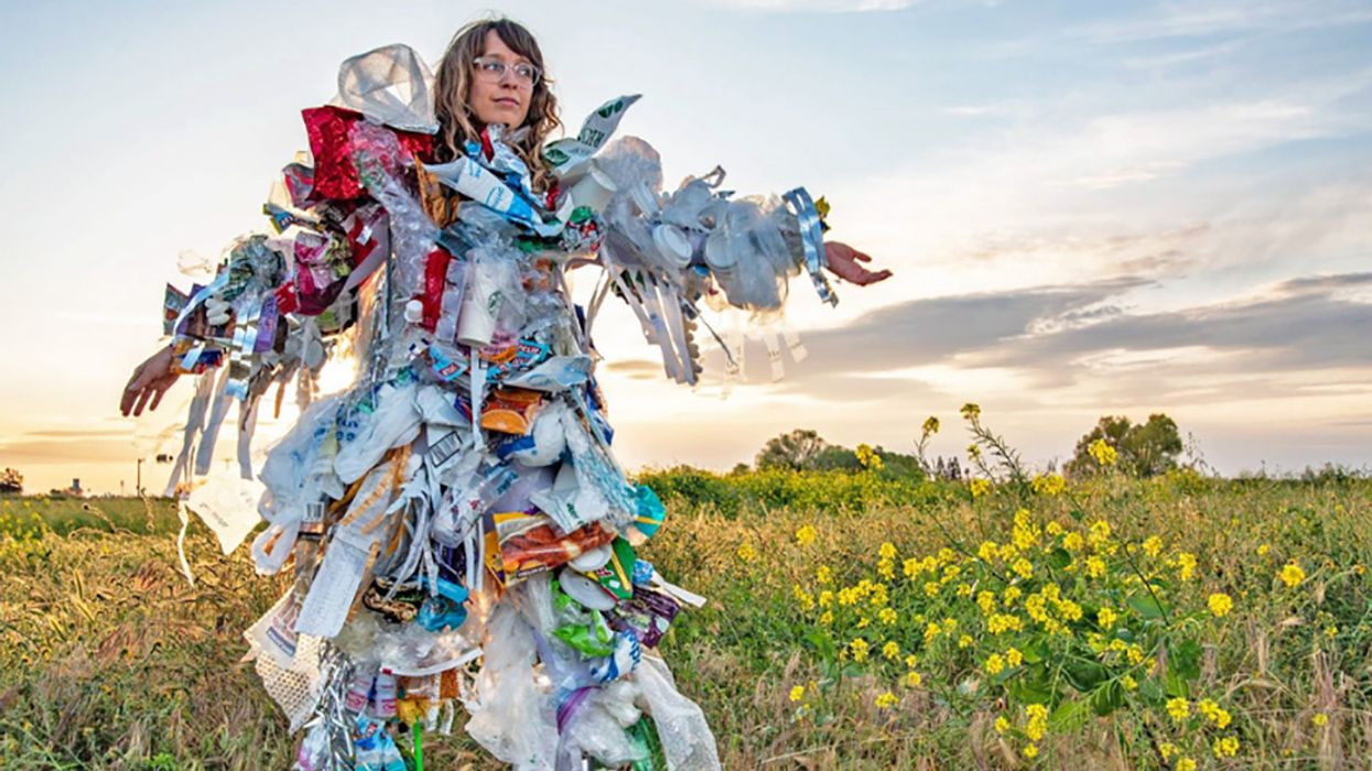 Tackling Plastic Pollution With Trash Art ... A Look at Our Waste Habits