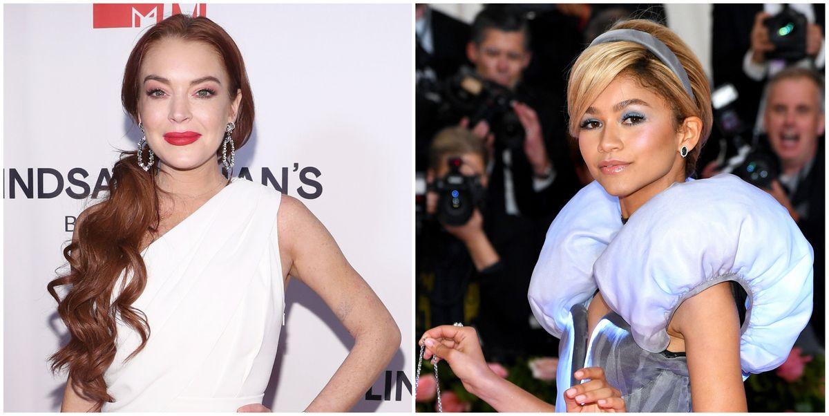 Lindsay Lohan Shaded Zendaya's Perfect Met Gala Look
