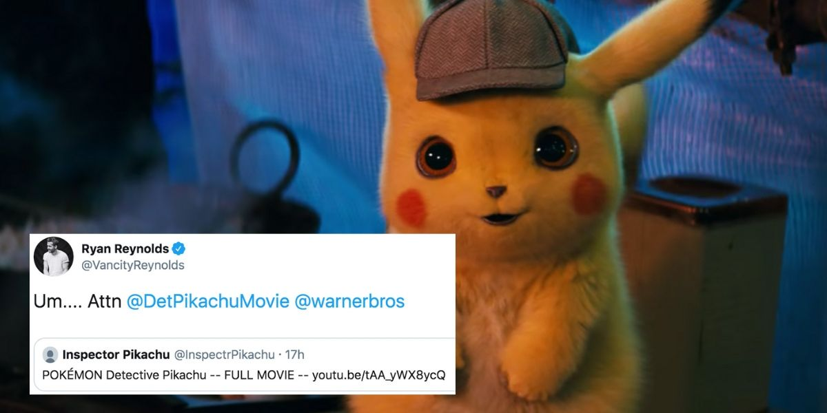 There Was A Leak Of Detective Pikachu That Definitely Caught