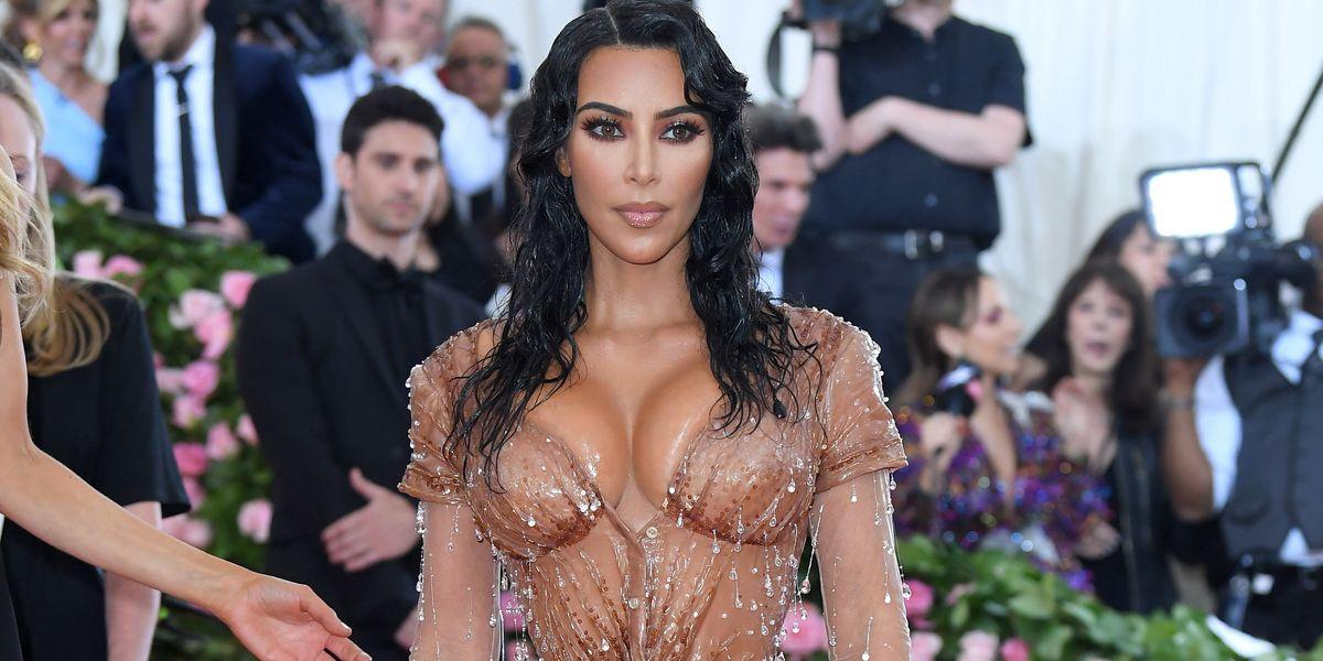 Kim Kardashian Couldn't Pee in Her Met Gala Dress