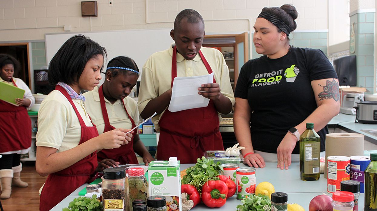 The Kitchen as Classroom: How Food Helps Students Learn Leadership