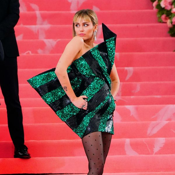 Did Miley Cyrus Pay Tribute to Hannah Montana at the Met Gala?