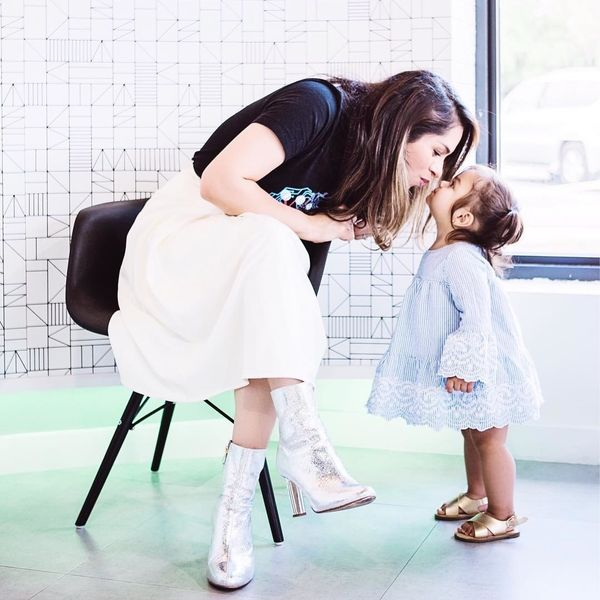Motherhood is: Being brave even when you're terrified - Motherly