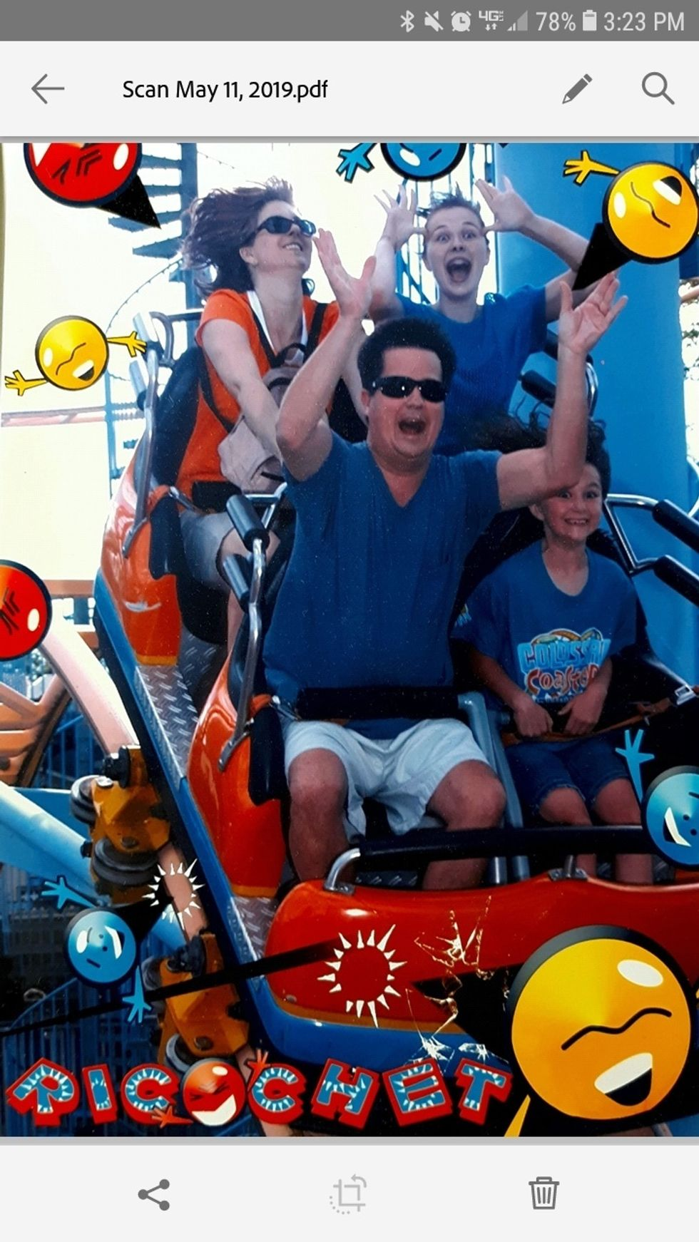 It's All Downhill When You Grow Up In A 'Coaster Family'