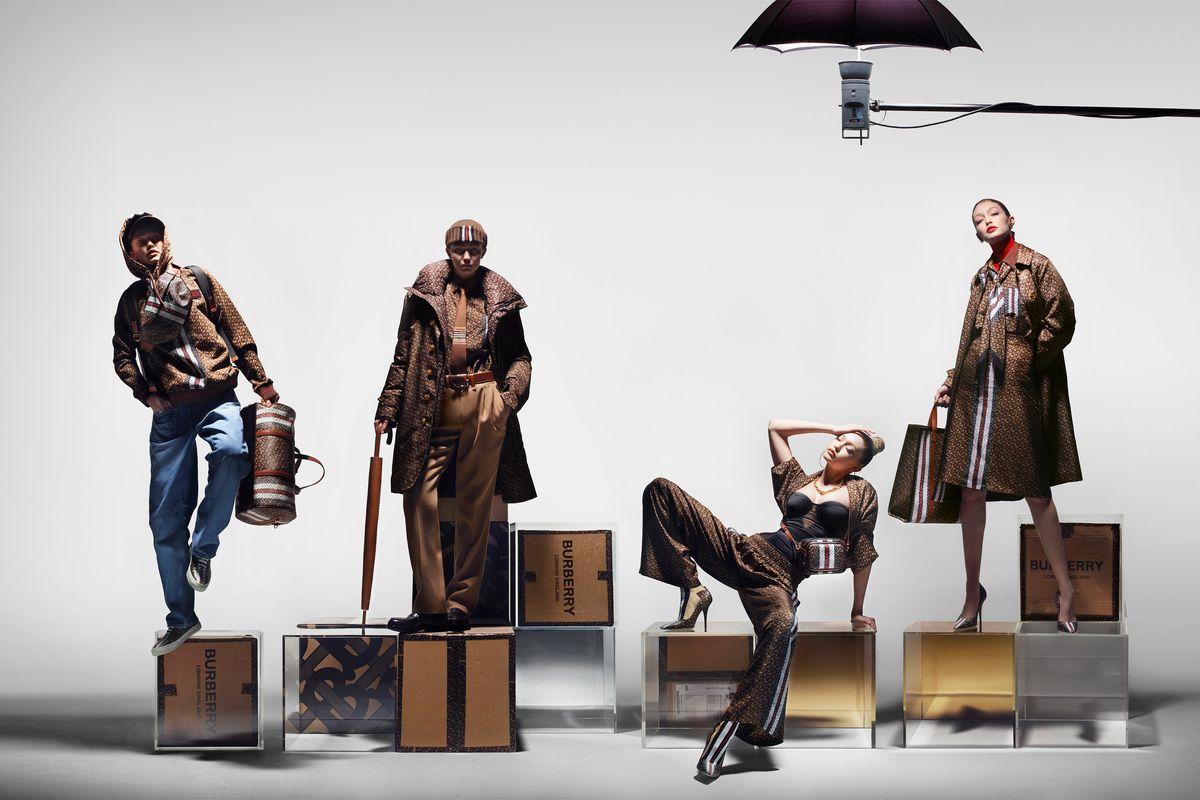 Gigi Hadid Stars in Burberry's New Campaign