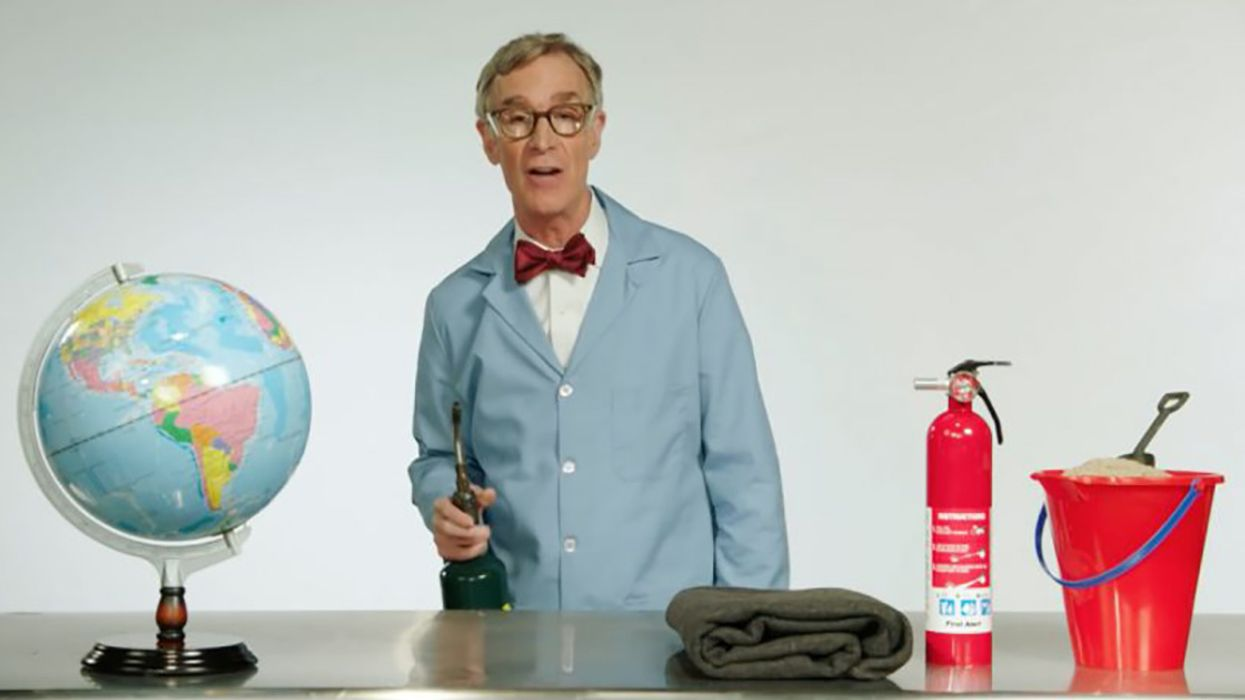 'The Planet's on F***ing Fire': Bill Nye Explains Climate Change to Adults