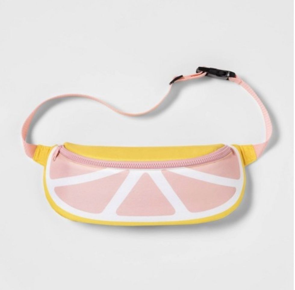 Sun Squad Fanny Pack Cooler Grapefruit