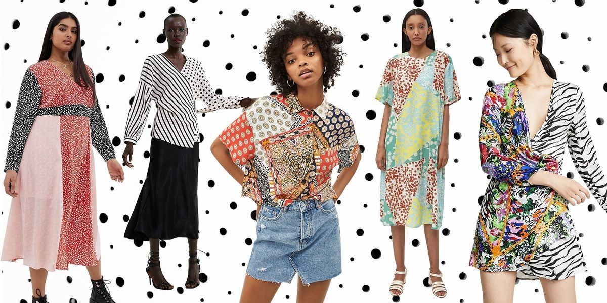 All Of The Best Mixed-Print Pieces For Summer