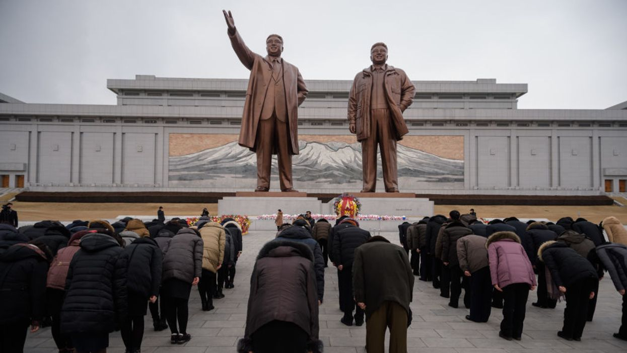 Is Juche the state religion of North Korea?