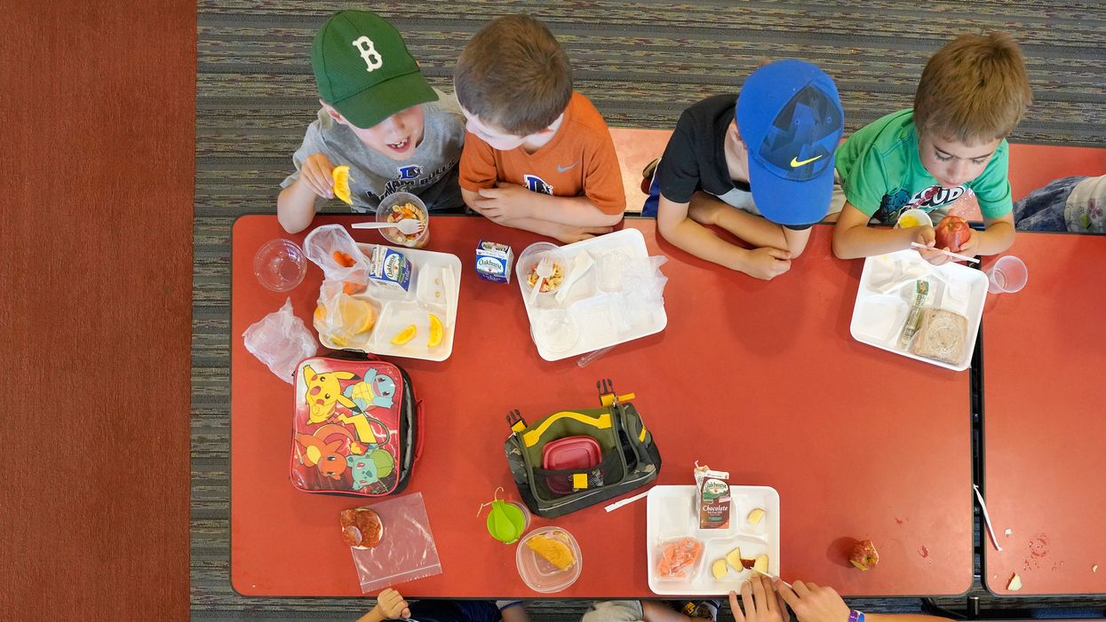 The dilemma of school lunch shaming