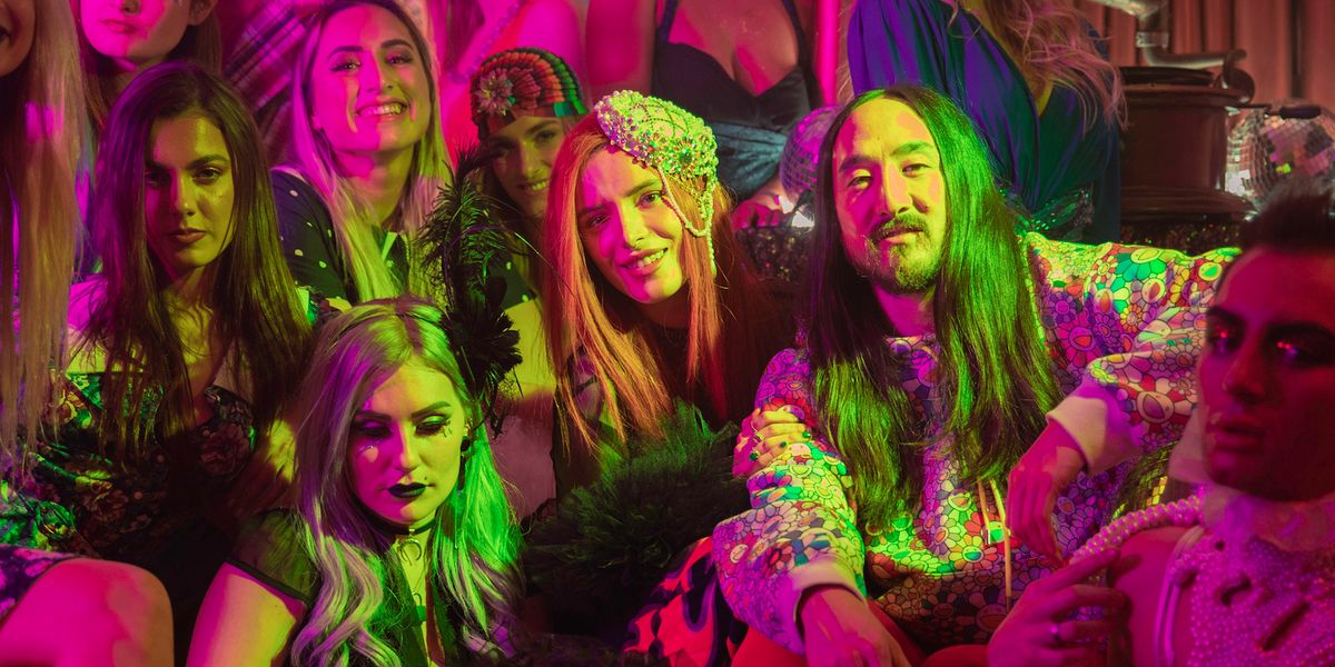 Bella Thorne Stars With Gigi Gorgeous In A Wild New Steve Aoki Music Video