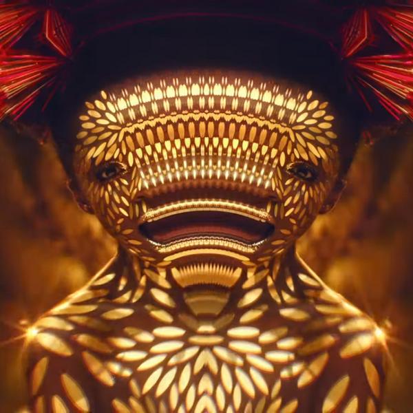 Enter PNAU's Kaleidoscopic World Made of 'Solid Gold'
