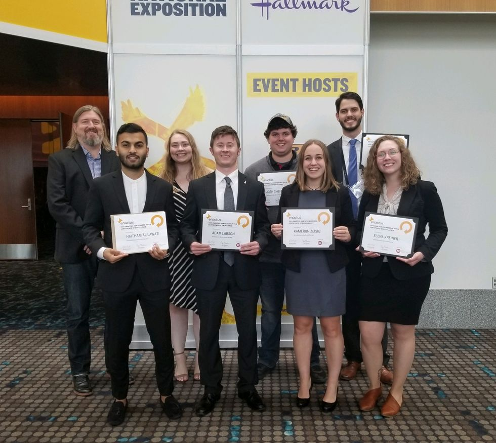 Gen Z Can And Will Change The World, Just Look At The Enactus Campus Expo