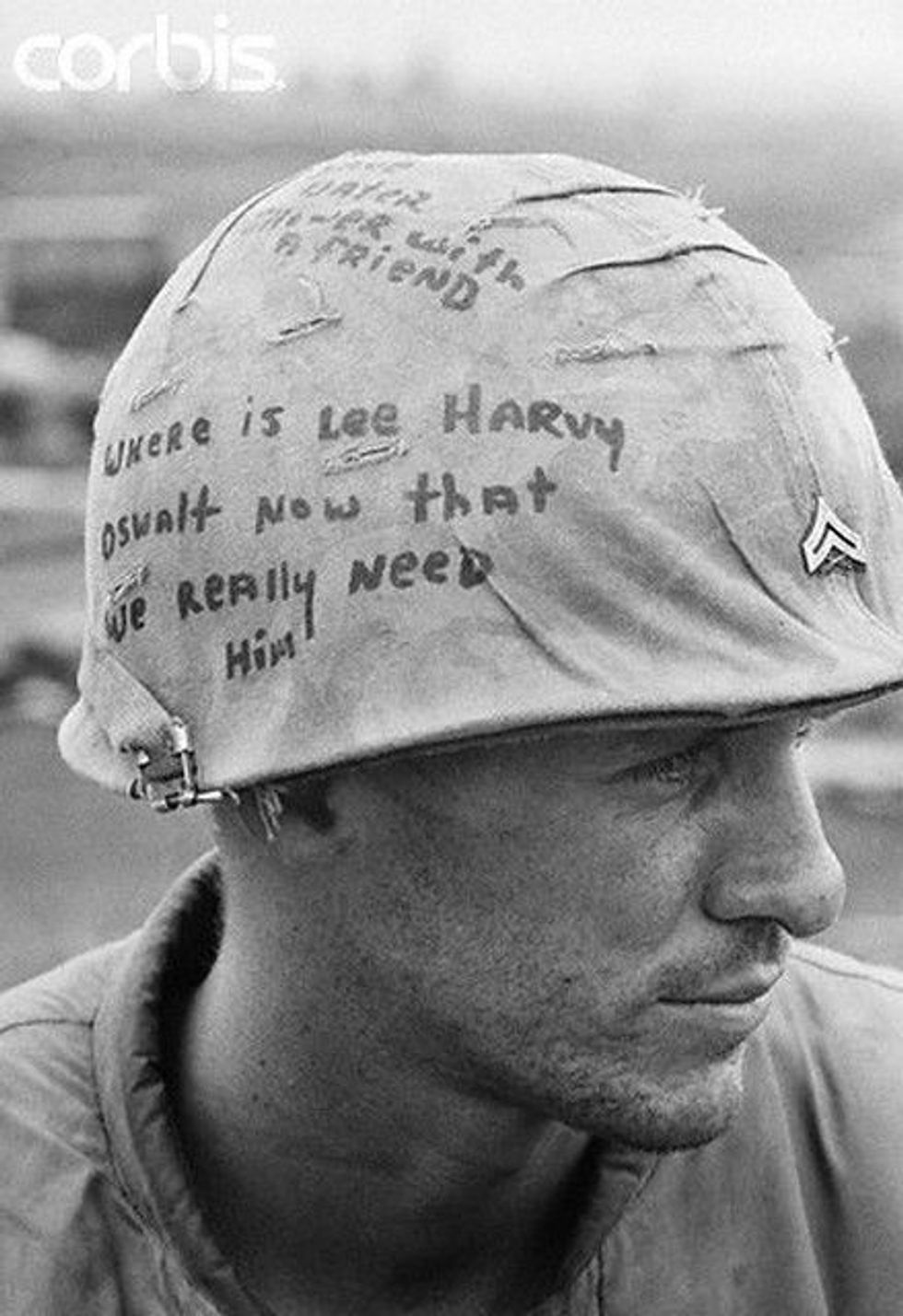 Why Troops In Vietnam Could Write On Their Helmets Americas Military Entertainment Brand