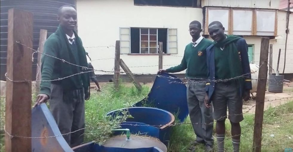 Human waste as sustainable energy? These high schoolers made it happen.