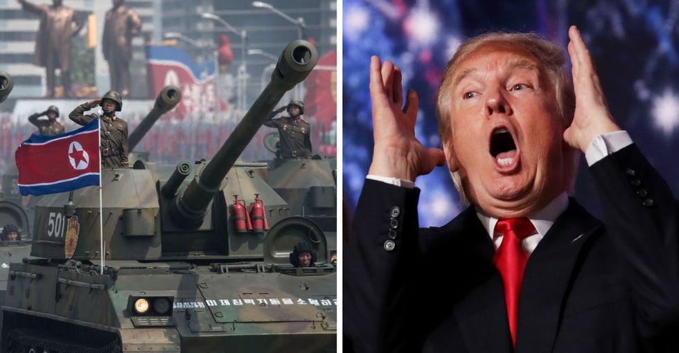 21 photos of military parades for Trump's authoritarian vision board.