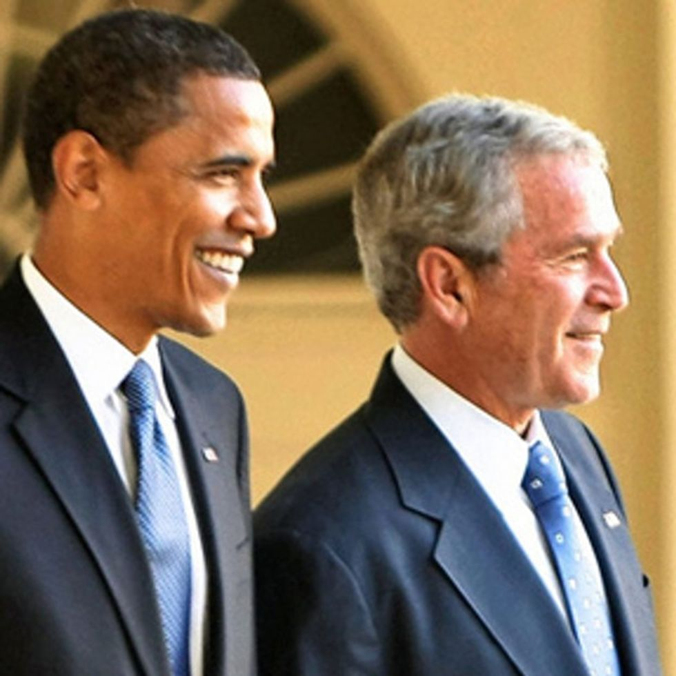One Horrible Thing Barack Obama And George W. Bush Have In Common