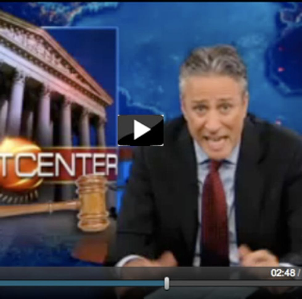 Jon Stewart On Strip Searching: 'I'm Willing To Bet Big Government Feels The Biggest When...'