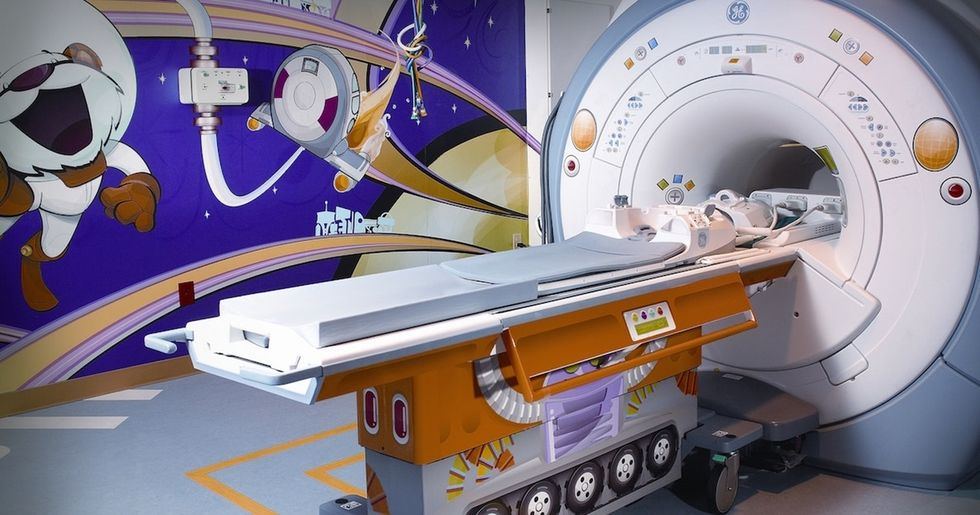 Kids at this hospital were terrified of the machines — until they got a makeover.