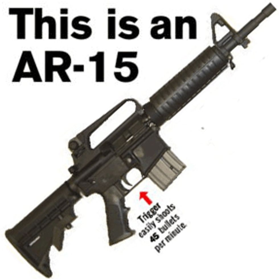 The Assault Rifle Used In Aurora Used To Be Illegal. For A Reason.