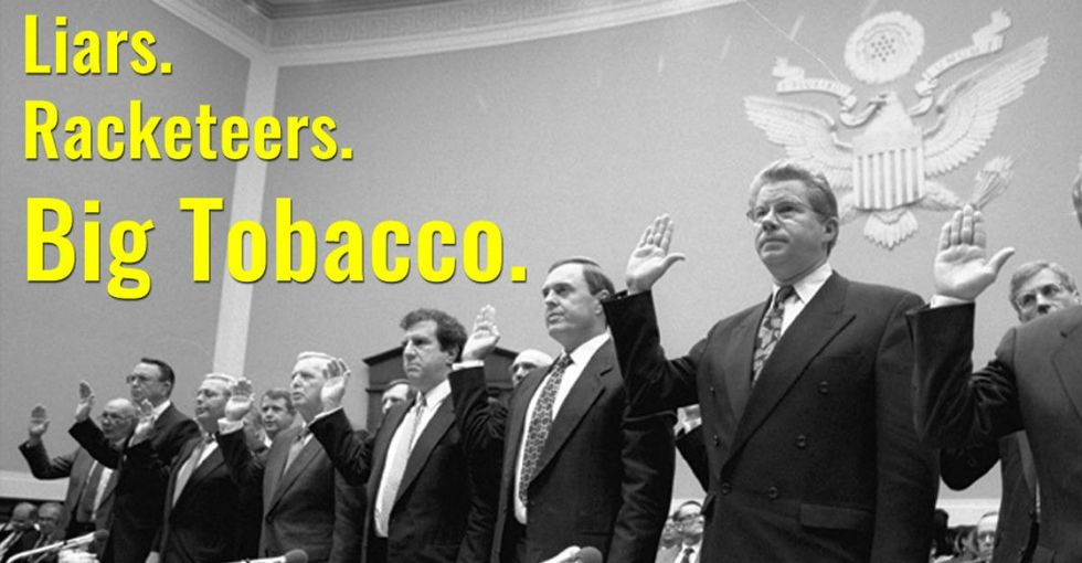 These anti-smoking ads were —​ wait for it — ​paid for ​by tobacco companies.​