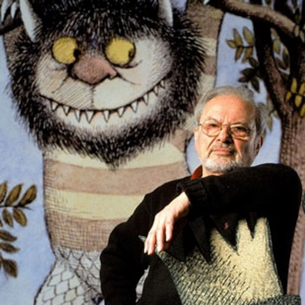 But The Wild Things Cried, 'Please Don't Go. We'll Eat You Up. We Love You So.' — RIP Maurice Sendak