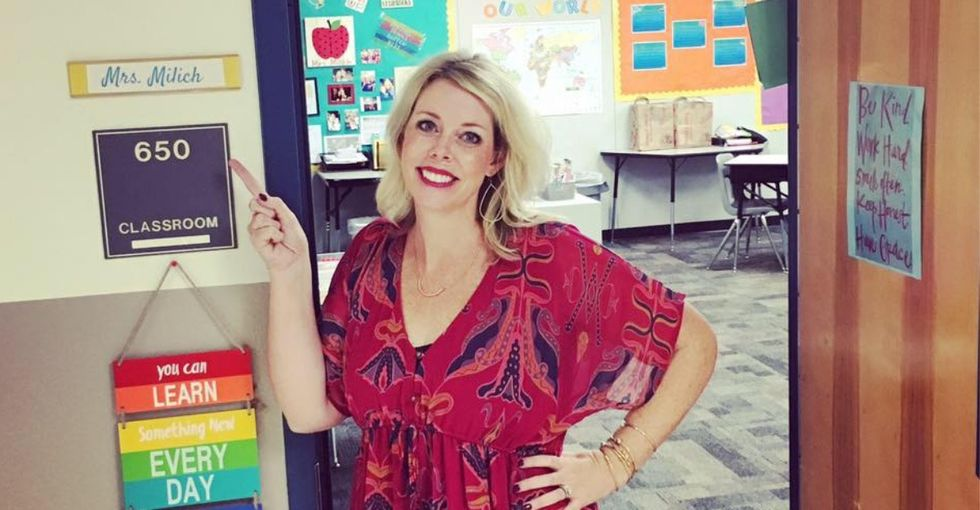 This 'feel-good' story about helping out a cash strapped teacher sends the wrong message about how our system is failing teachers.