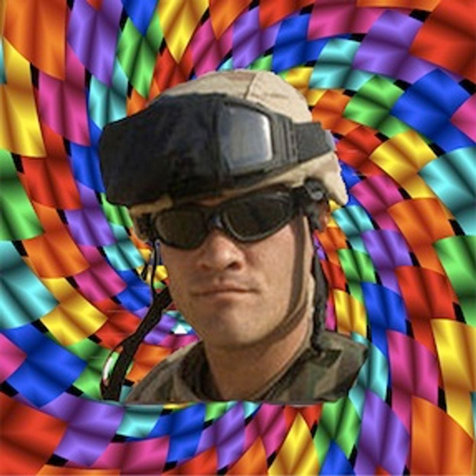 War Would Be A Lot Less Kill-y If Soldiers Took More LSD