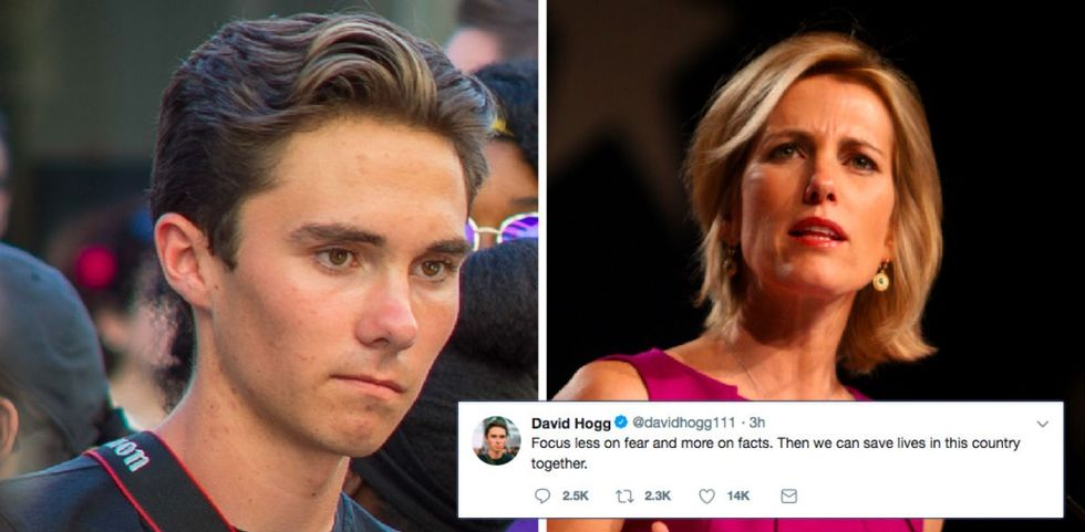 Laura Ingraham mocked this Parkland survivor. His response was dignified and swift.