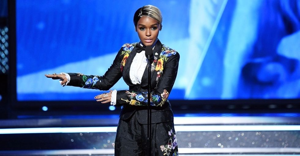 Watch Janelle Monáe deliver the most powerful speech from this year's Grammys.