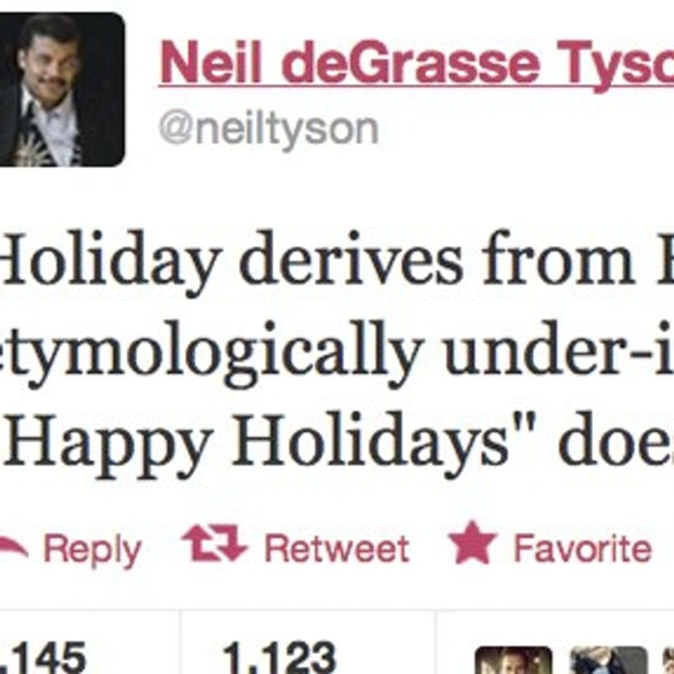 What You're Really Saying When You Say 'Happy Holidays'