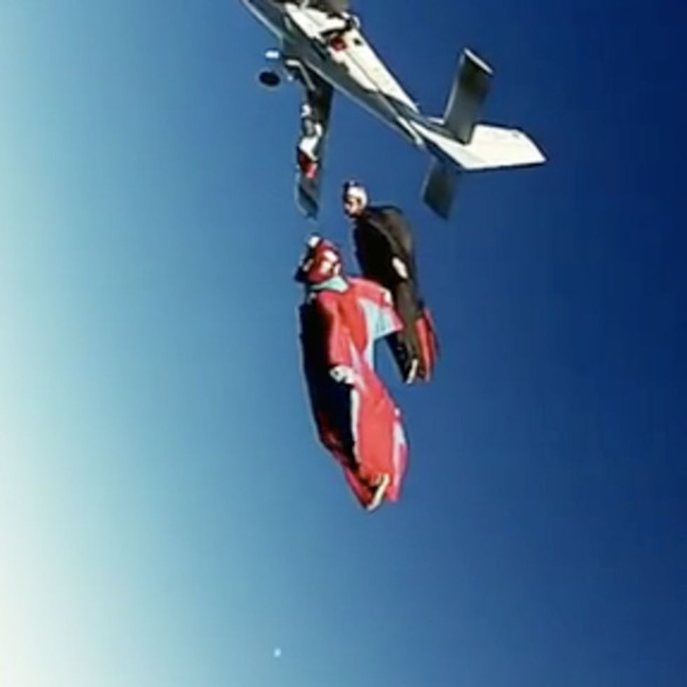 Here's A Video Of Human Beings Flying In Formation — For Kids!