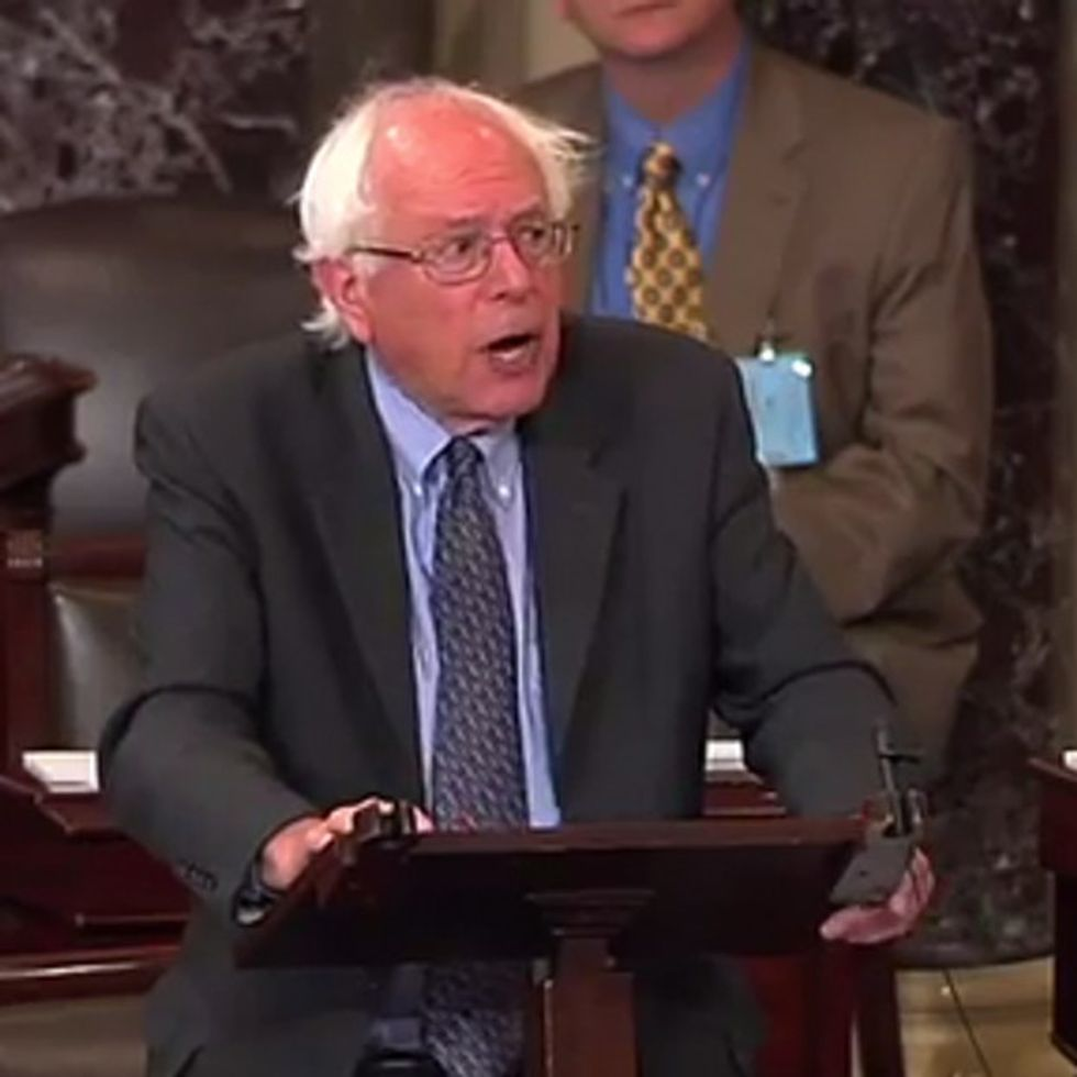 How The Hell Did Wall Street Get An Extra $16 Trillion? Bernie Sanders Explains.