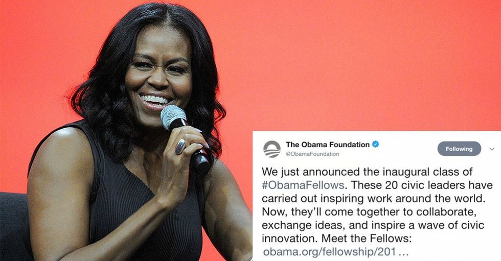It's official: The Obamas have their first fellows. They're impressive, to say the least.